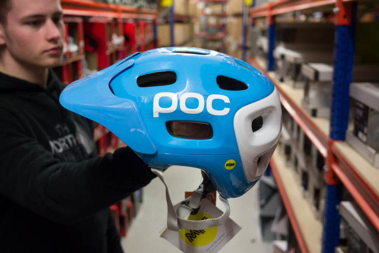 POC Trabec helmet with MIPS