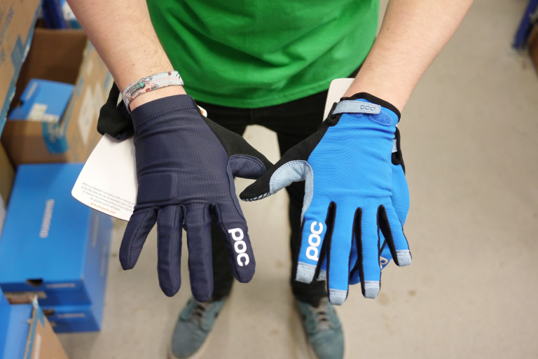POC Index Flow and POC Index Air Adjustable gloves