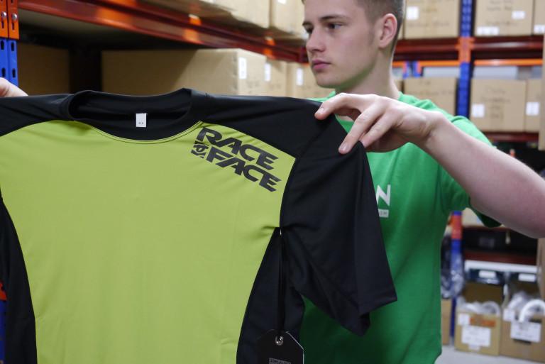Race Face Trigger Short Sleeved jersey