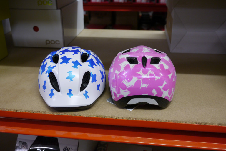 MET Buddy and Elfo kids helmets