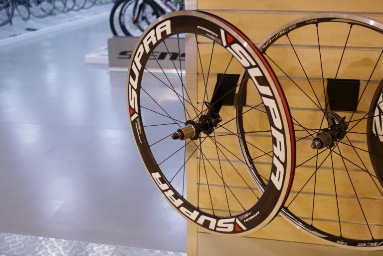 Supra RC58 Carbon Clincher wheels