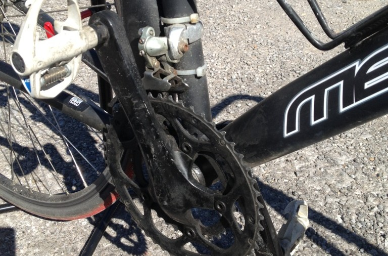 chainset and pedals LR