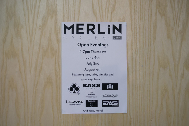 Merlin Cycles opening evenings