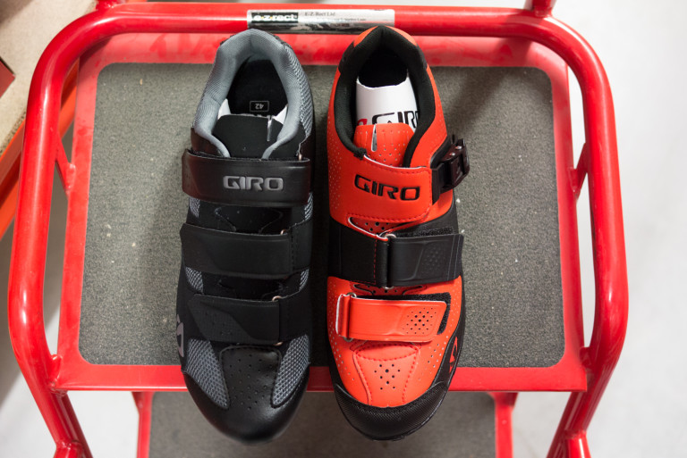 Giro Herraduro and Terraduro MTB shoes