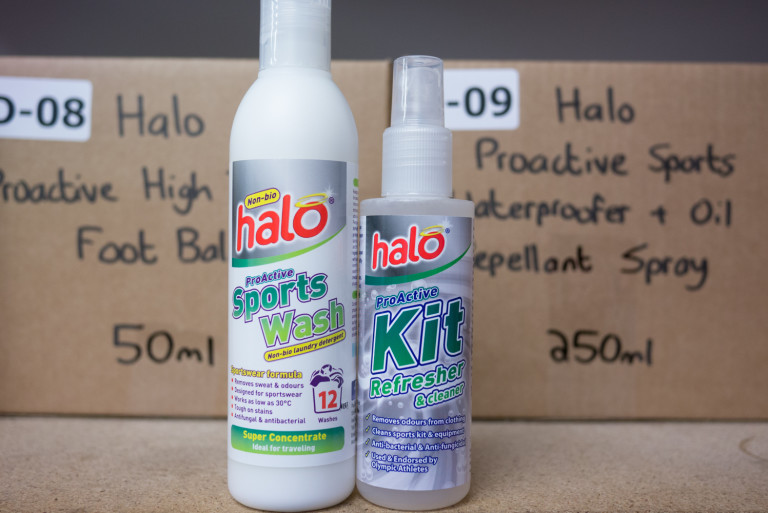 Halo Proactive Sports Wash and Kit Refresher
