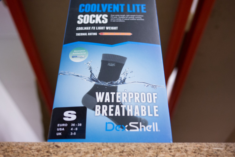 DexShell Waterproof Coolvent Lite socks