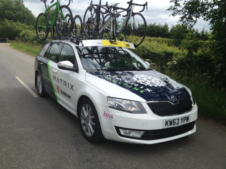skoda matrix fitness team car
