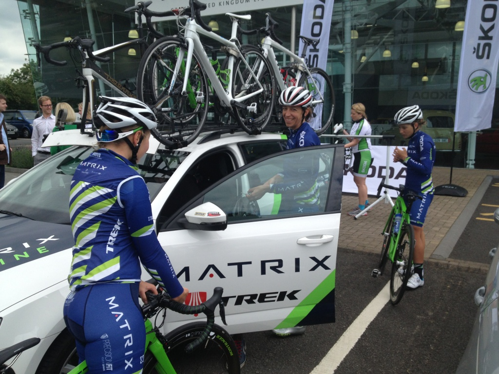 skoda matrix fitness team car loading