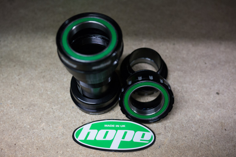 Hope Press Fit BB and Stainless steel MTB BB