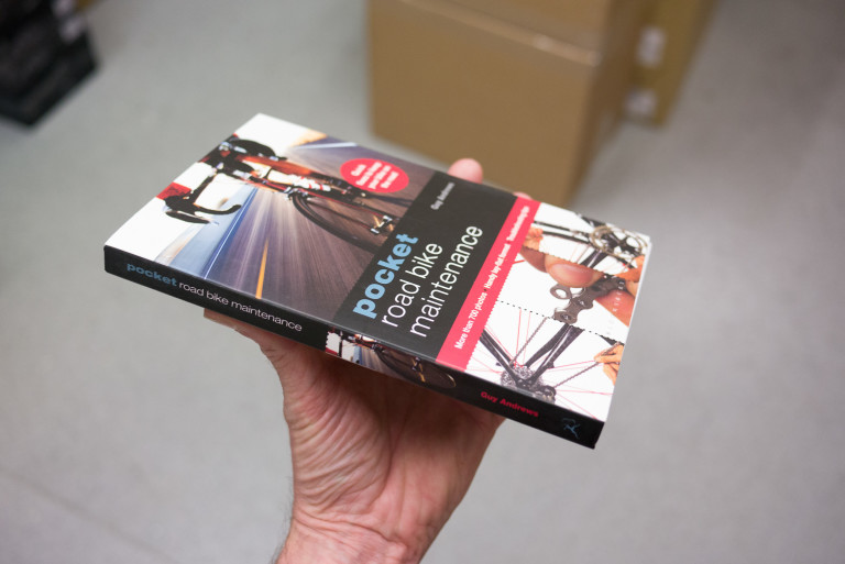Pocket Road Bike Maintenance book