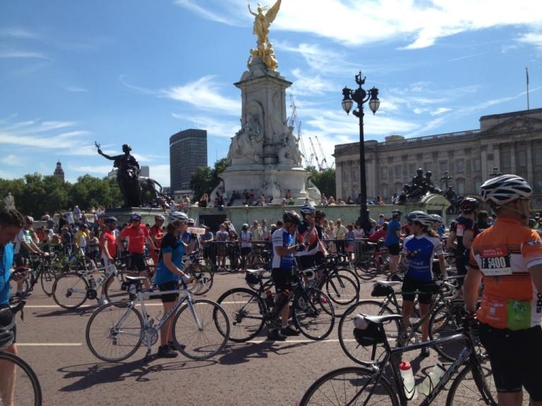 Buckingham Palace finish LR