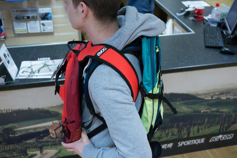 Evoc CC backpacks
