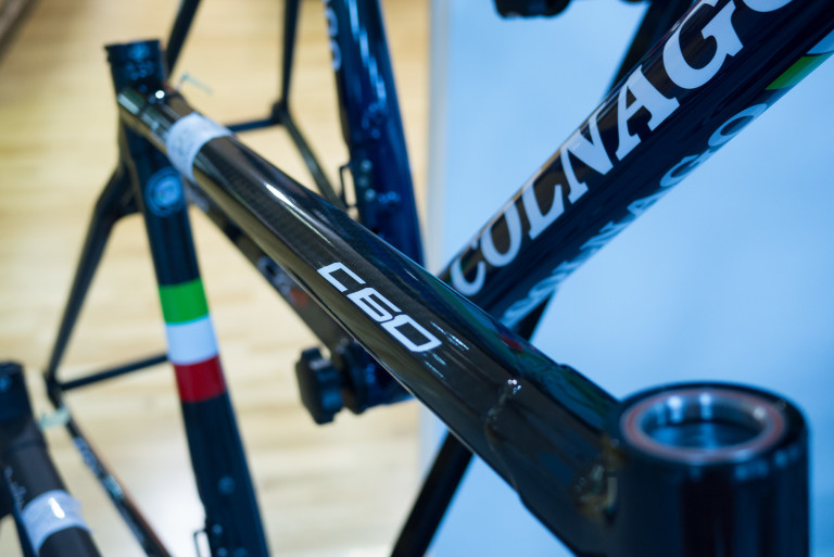 Colnago C60 Matt Black / Gloss Black