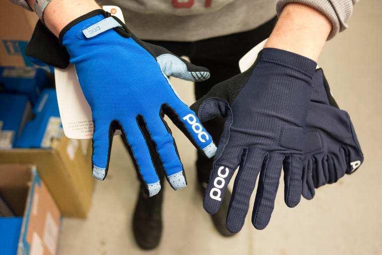POC Index Air Adjustable gloves and Index Flow gloves