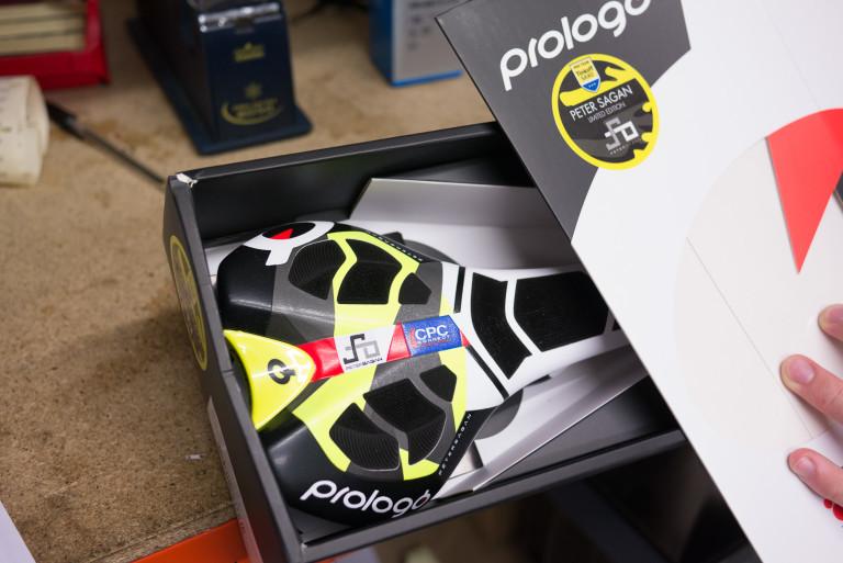 Prologo CPC Nago Evo Nack Team Saddle Peter Sagan Replica