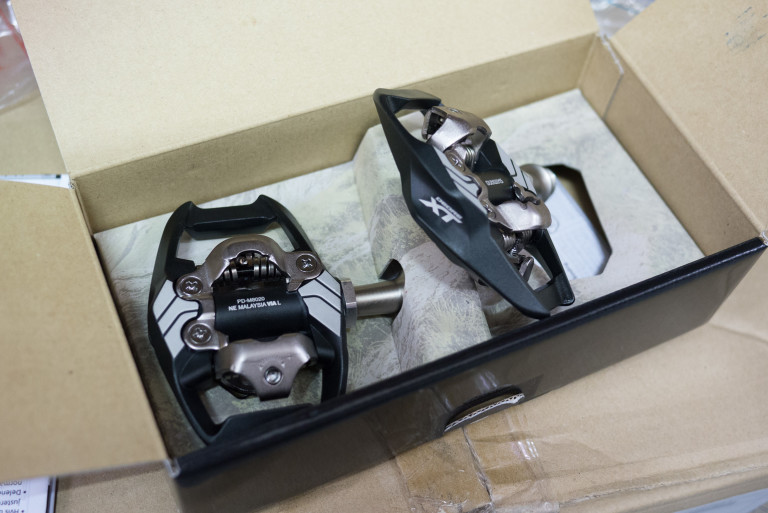 Shimano XT M8020 SPD Trail pedals