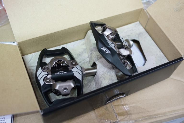 Shimano XT M8020 SPD Trail pedals