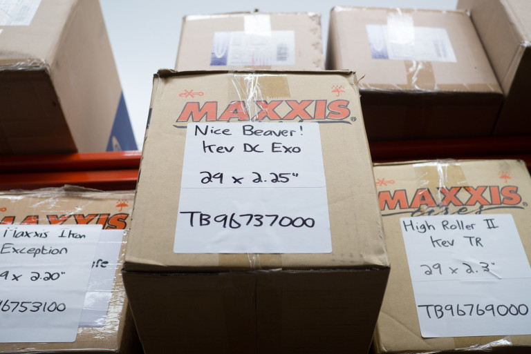 Re-stocked Maxxis tyres