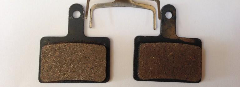 Shimano Deore Organic Resin or Semi Metal or Sintered Disc Brake Pads