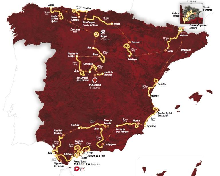 vuelta2015 route