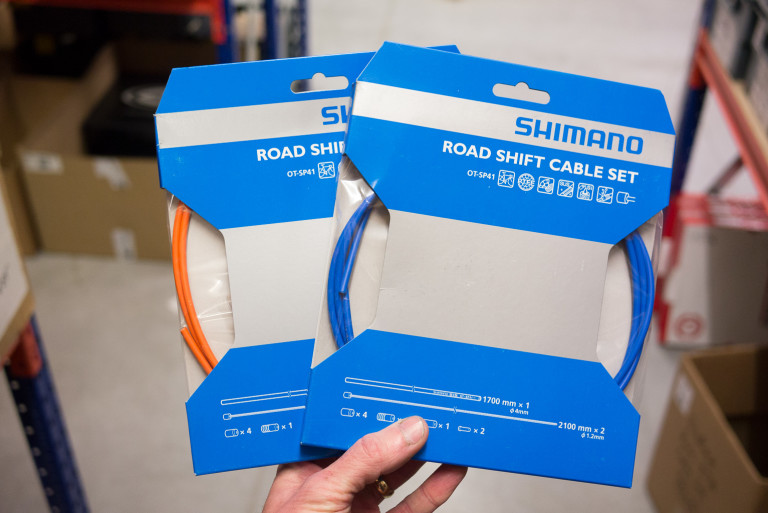 Shimano Road Gear Cable Set PTFE