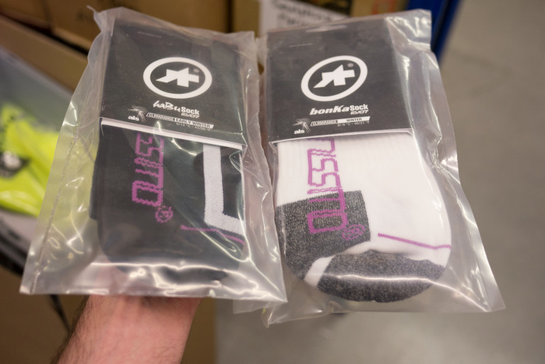 Assos HabBu and BonKa socks