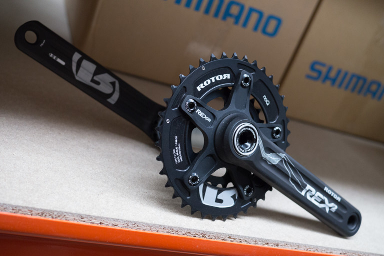 Rotor REX MTB 24/38T chainset