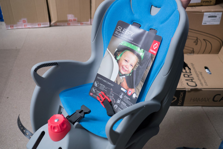 Hamax Sleepy reclining child seat