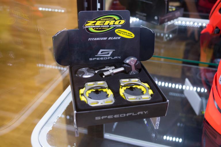 Speedplay Titanium Zero pedals
