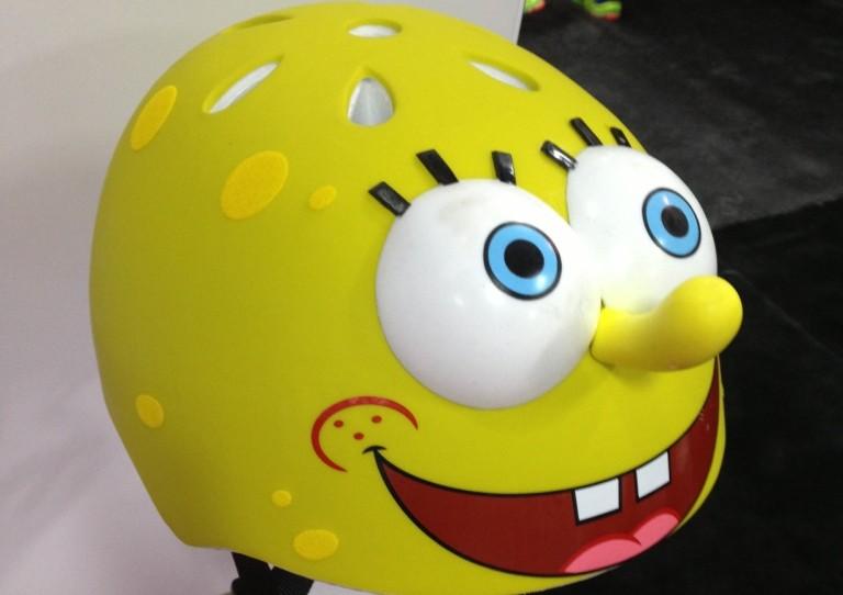 Spongebob squarepants helmet