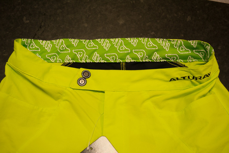 altura summit shorts fly and waistband