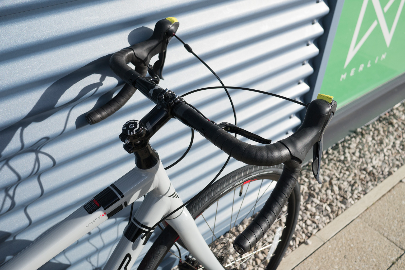 2016 felt v55 gravel adventure bike shorter stem wider bars