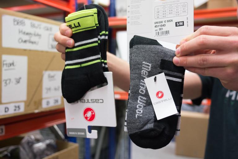 Castelli Gregge 12cm socks