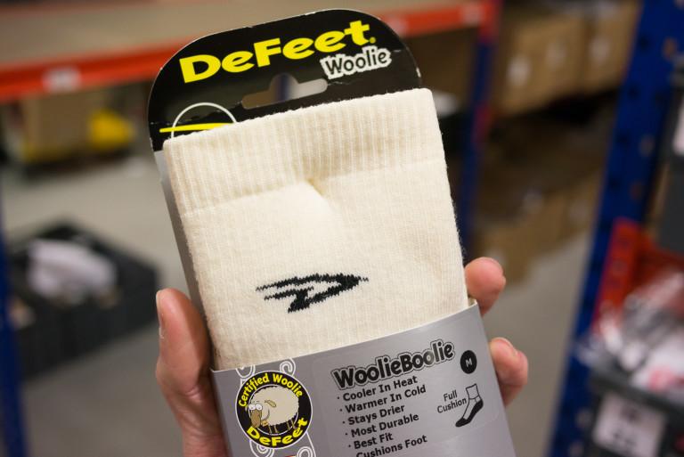 Defeet Woolie Boolie 2 Black Sheep socks