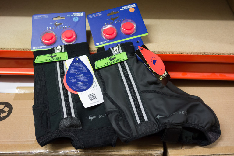 Sealskinz Halo and Lightweight Halo overshoes