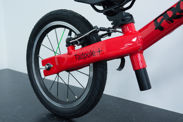 frog tadpole plus rear wheel
