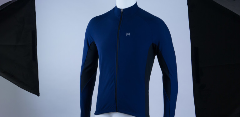 Merlin Wear Sport Long Sleeved Cycling Jersey front