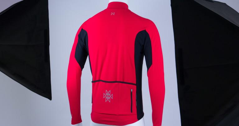 Merlin Wear Sport Long Sleeved Cycling Jersey rear