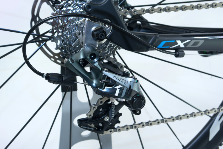Sram Force rear mech of the Sensa Trentino CXD Force1