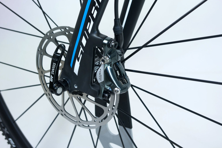 Front disc brake of the Sensa Trentino CXD Force1