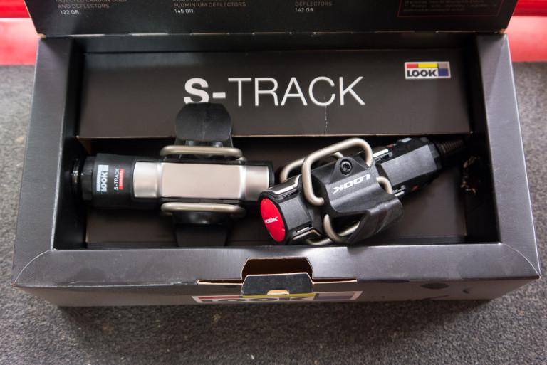 Look S-Track Carbon Titanium MTB pedals