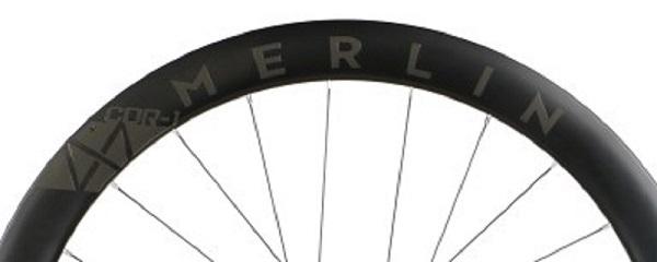 80091 merlin cdr 1 carbon clincher disc road wheelset 700c23