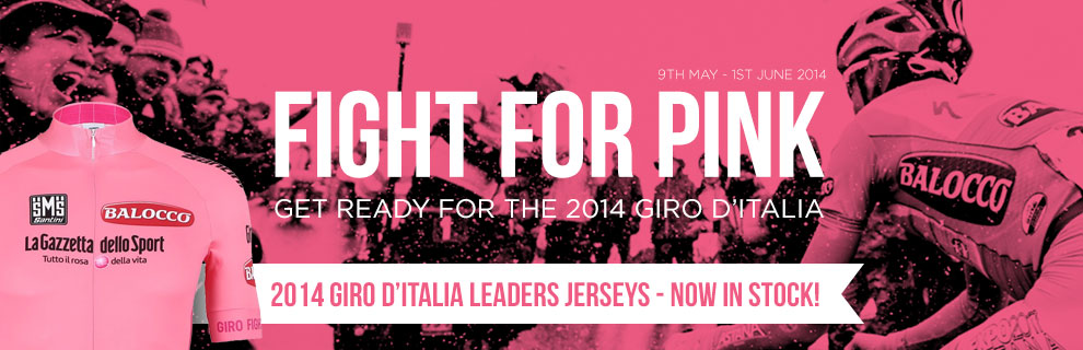 2014 Giro d'Italia Cycling Leaders Jerseys Now Available at Merlin Cycles