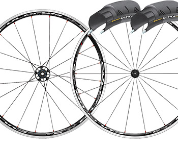 Save 35% Fulcrum Racing 5 LG wheels & tyres Bundle