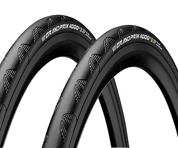 Save 42% Continental GP4000S II Tyres & Tubes