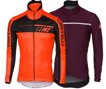 Save Up To 50% Castelli Jackets